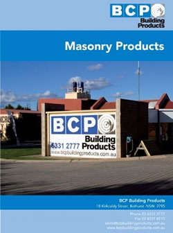 Masonry Products Brochure
