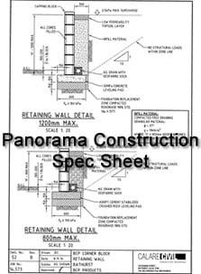 Panorama Spec Sheet