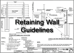 Retaining Wall Guidelines